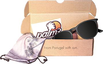 Foto dos Óculos de Sol Redondos