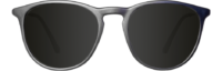 FRONT BLACK POLARIZED BLACKOUT ROUND